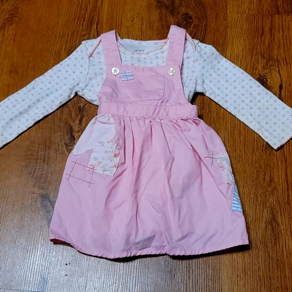 Onesie overall two piece